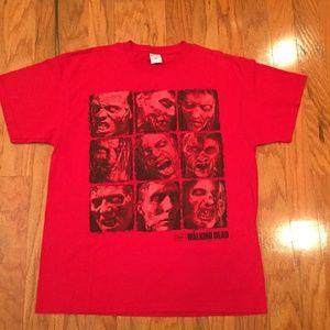 The Walking Dead T shirt Men's XL Jerzees Hi Dense